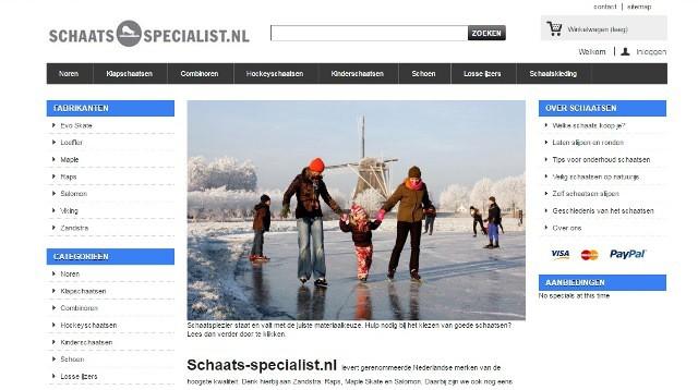 Webwinkel • Schaats-specialist.nl