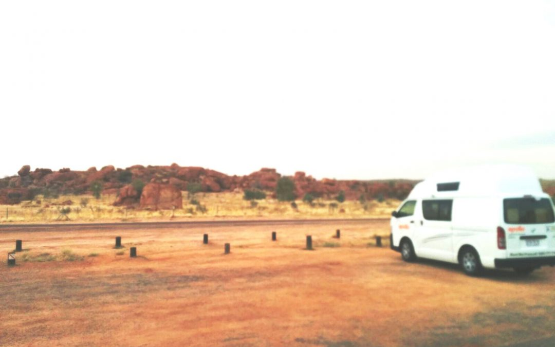 Reis door de outback van Australië