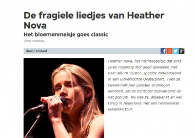 Interview • Heather Nova